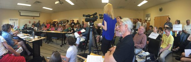 Burlington building height debate draws opinionated crowd