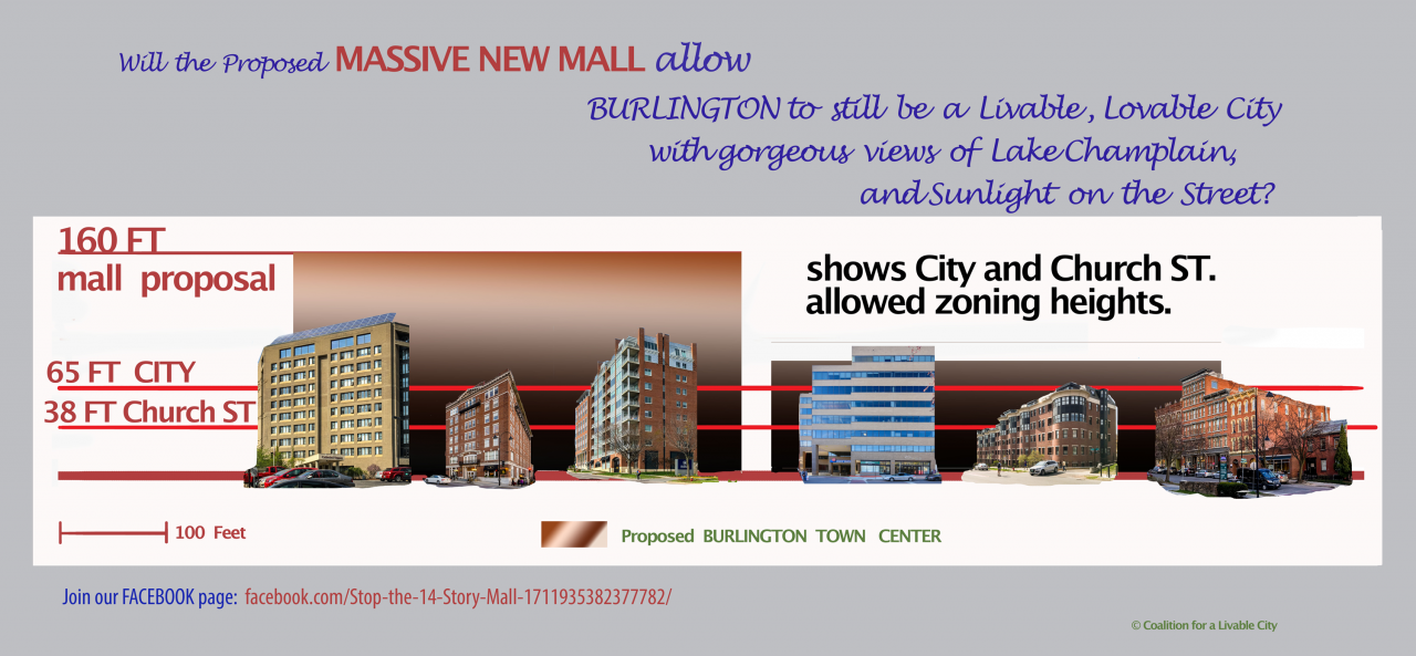 Stop the Burlington Town Center mall