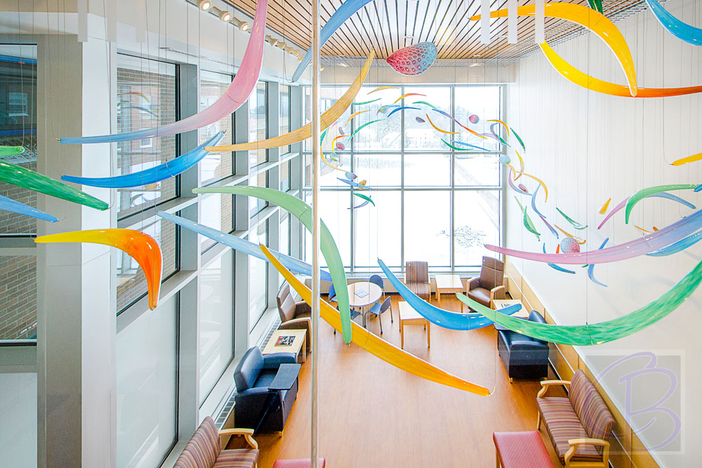 FAHC gets a new ICU Waiting room with an artistic twist.