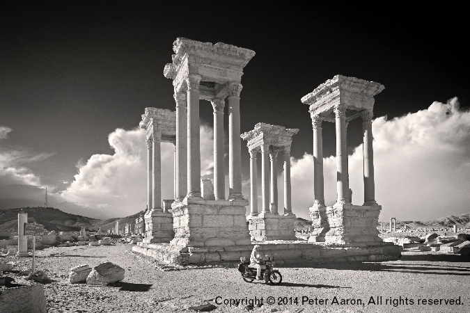 "Photography Exhibit Alert! ""Photos of Syria, Then and Now"", by Peter Aaron"