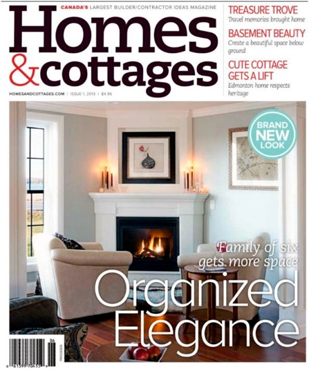 Featured Cover in Home & Cottages Magazine