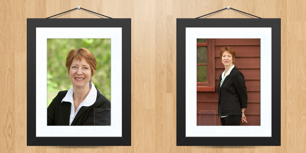Business Portrait of Joan by Carolyn Bates Photography