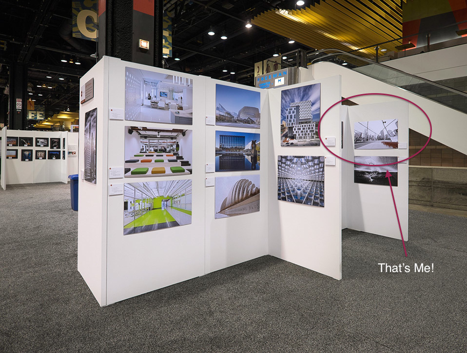 Spotted at the ASMP Exhibit and Booth at AIA Expo, Chicago 2014