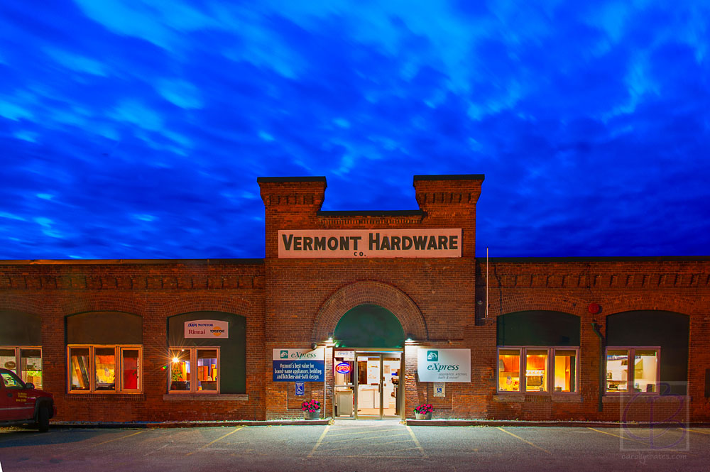 Before and After: Vermont Hardware Store Photo Shoot