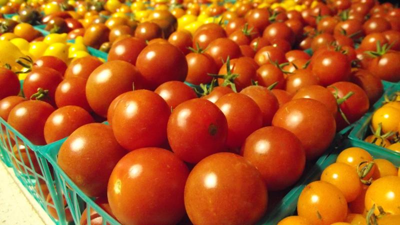 Farmer's Market - Fresh Tomatoes