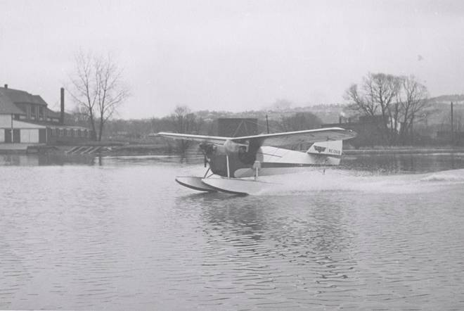 Aeronca on Floats