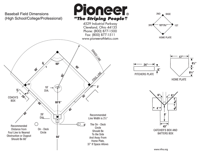 Pioneer Baseball Field