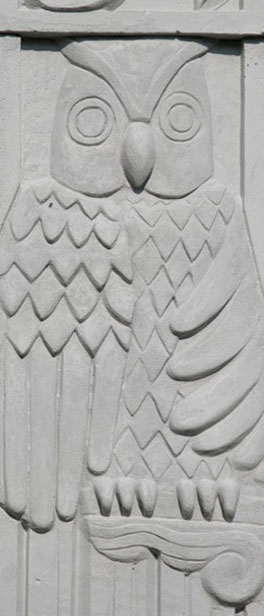 Theater Detail of Owl
