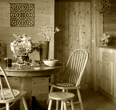 Photograph by Carolyn L. Bates of Kate Nadeau's Kitchen