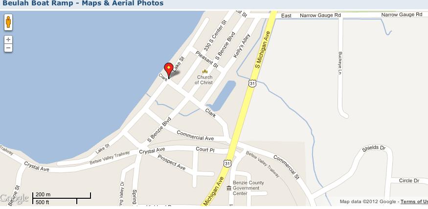 michigan-map-boat-launch-beulah