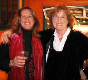 Cynthia with Carolyn