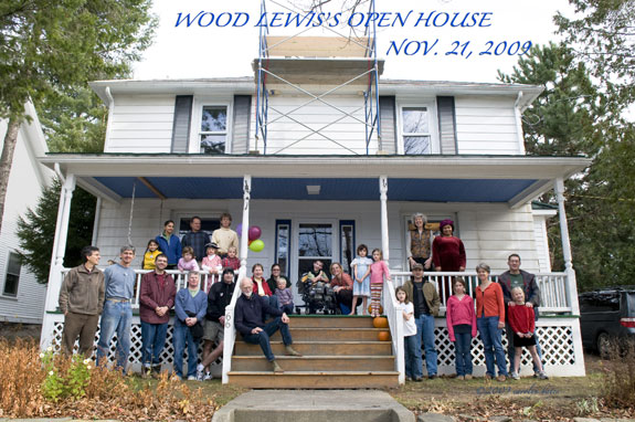 Wood Lewis's Open House