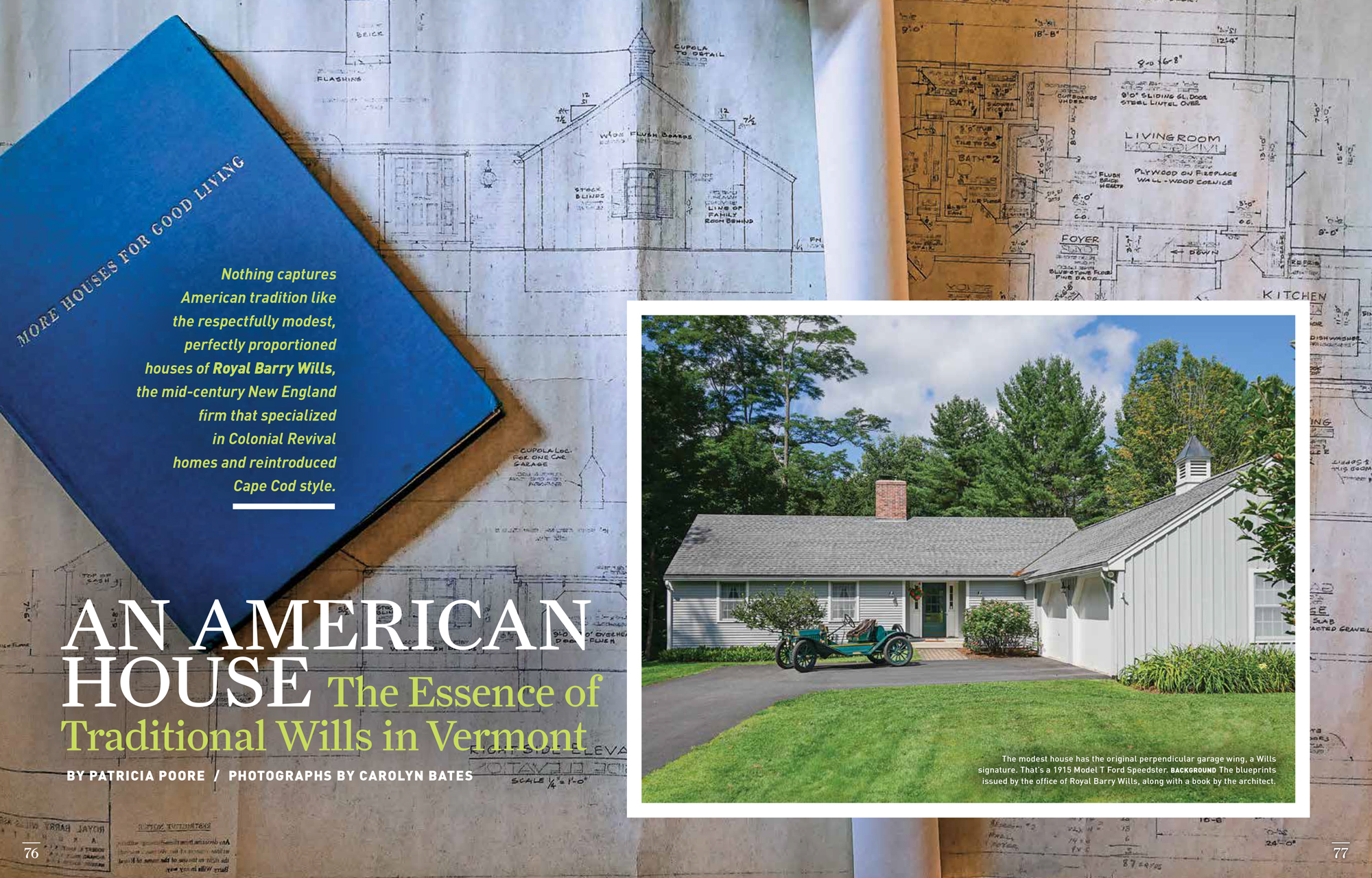 An American House featured in OLD HOUSE JOURNAL